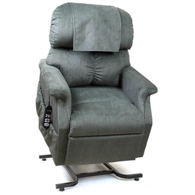 Golden Comforter power lift recliner - Maxicomfort technology - Oxford fabric - Lifted position