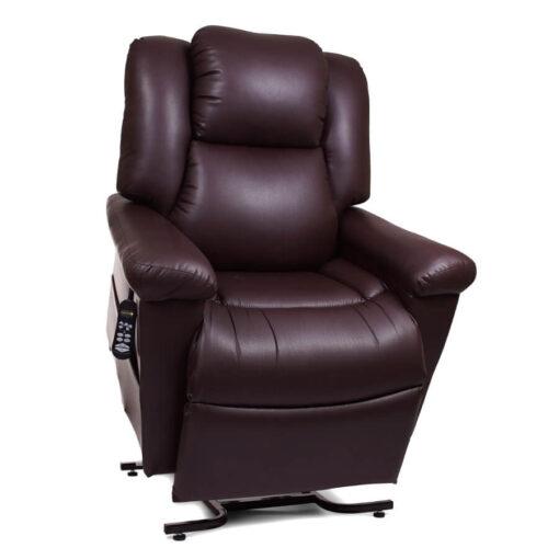 Golden's Day Dreamer power lift recliner - coffee bean - PR632 - Lifted position