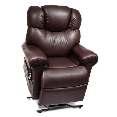 Golden power lift recliner Cloud with Maxicomfort and Twilight technology - PR512 - Lifted position