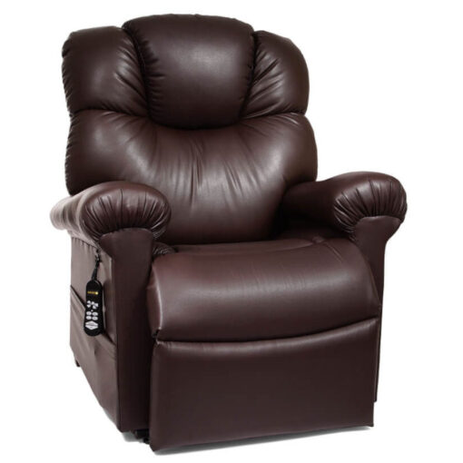 Golden power lift recliner Cloud with Maxicomfort and Twilight technology - PR512 - Seated position