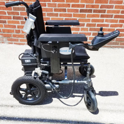 Gem Care Onyx Power Electric Wheelchair
