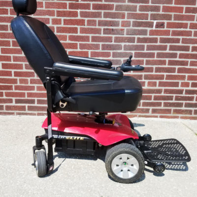 Pride Jazzy Select Elite Electric Wheelchair