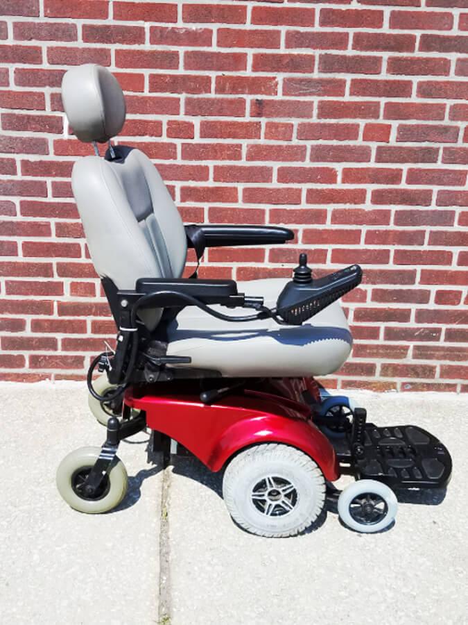 Jet 3 Power Wheelchair : Pride mobility jet wheel electric wheelchair allrite