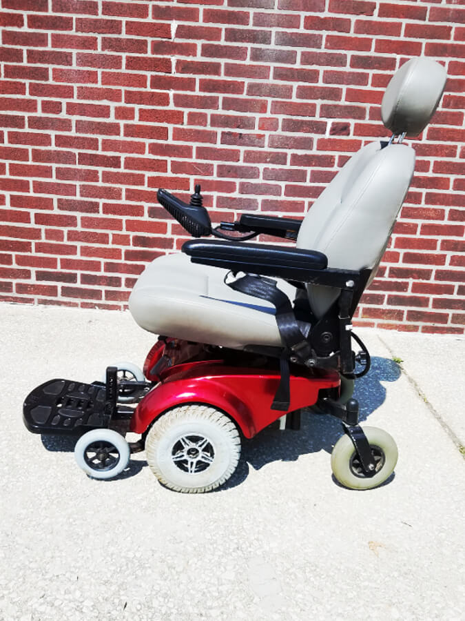 Pride Mobility Jet 3 4 Wheel Electric Wheelchair Allrite