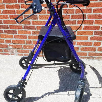 Purple Rollator