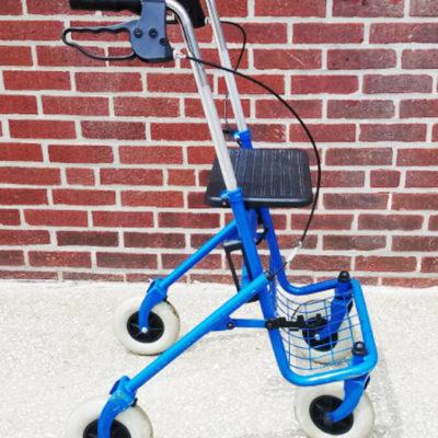 Blue Rollator
