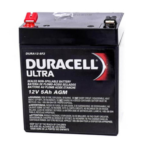 Duracell Ultra AGM B SLAA12-5F2 rechargeable mobility battery