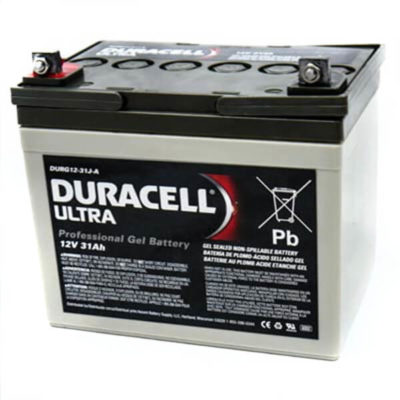 Duracell Ultra DURG12-31J Rechargeable mobility battery