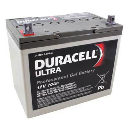 Duracell Ultra DURG12-70P rechargeable mobility battery