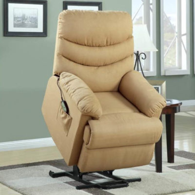 Power Lift Chair in Beige Power Lift Chair 9769-1LT