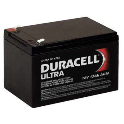 duracell ultra agm SLA12-12F2 rechargeable mobility battery