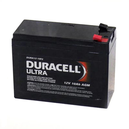 duracell ultra agm SLAA12-10F2 rechargeable mobility battery