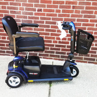 New Pride GoGo Sport Mobility Scooter-Blue