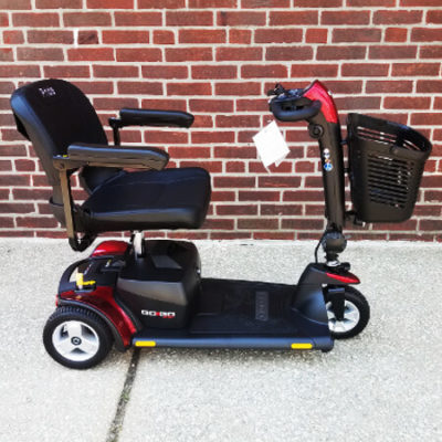 New Pride GoGo Sport Mobility Scooter-Red