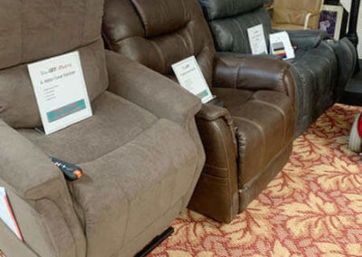 Pride Power Recliners - floor models