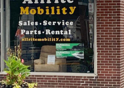 Allrite Mobility storefront