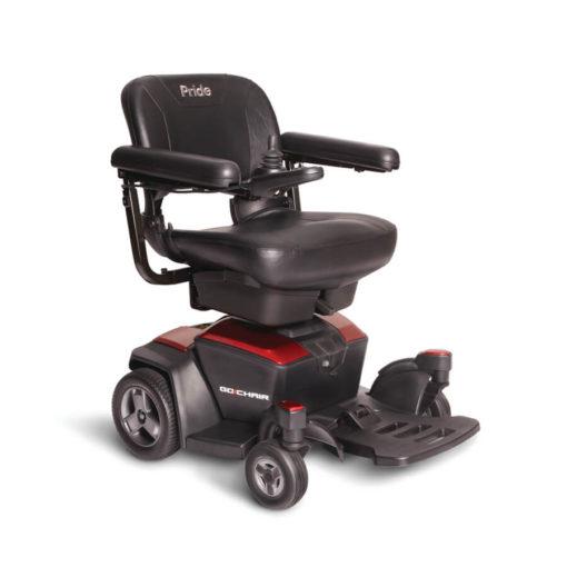 Pride GoChair power wheelchair- Red
