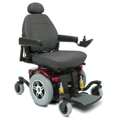 Jazzy 614 HD power wheelchair