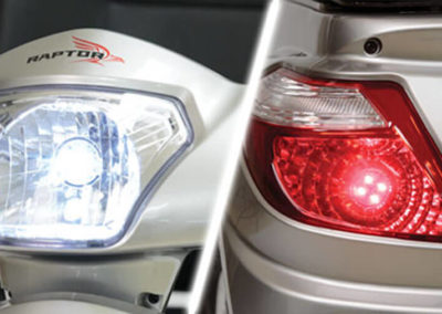 Front Rear Light Display