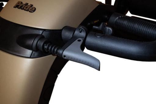 Wrangler - Hand brake detail