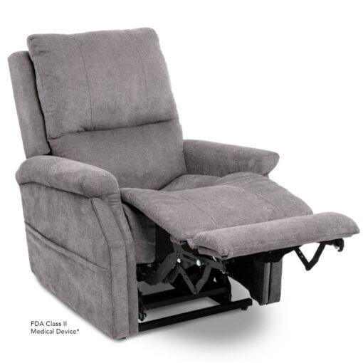 Viva Lift power lift recliner - Metro Collection - Saville Grey - Reading position