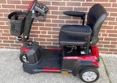 Drive Ventura mobility scooter - left side
