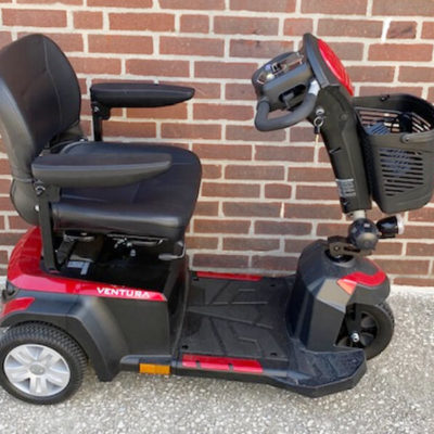 Drive Ventura mobility scooter - right side