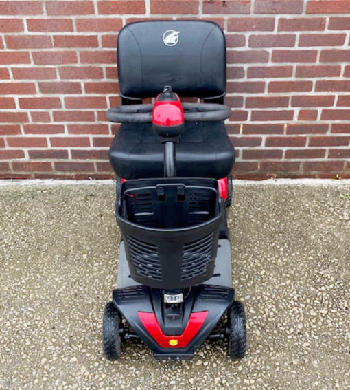 Golden Buzzaround XL mobility scooter - front view