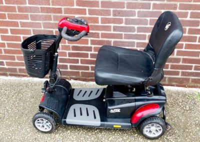 Golden Buzzaround XL mobility scooter - left side