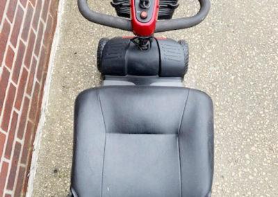 Golden Buzzaround XL mobility scooter - tiller control
