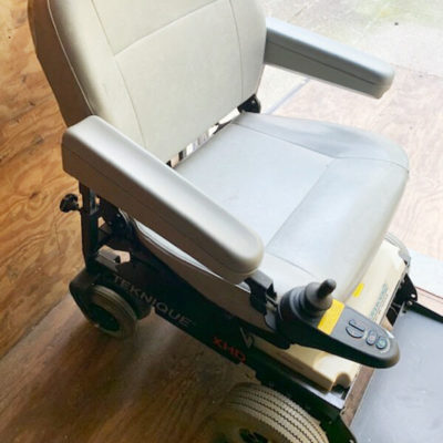 Hoveround Teknique XHD Power Wheelchair - Right side