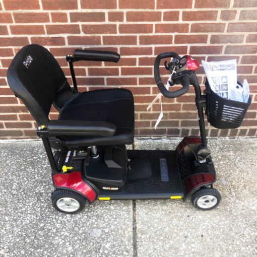 GoGo Elite Traveller mobility scooter - right side view