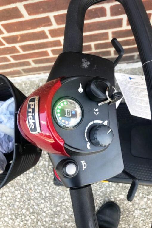 GoGo Elite Traveller mobility scooter - tiller control