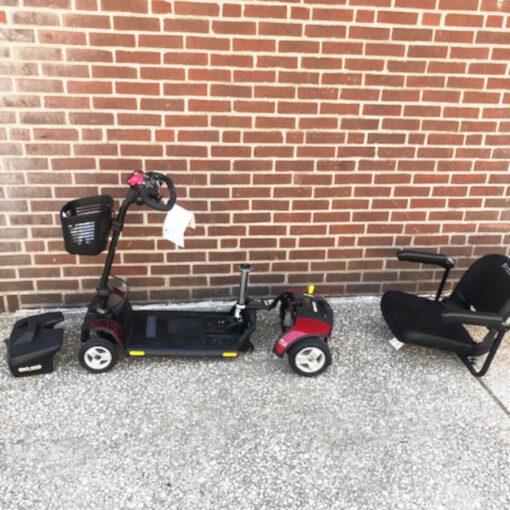 GoGo Elite Traveller mobility scooter - unassembled