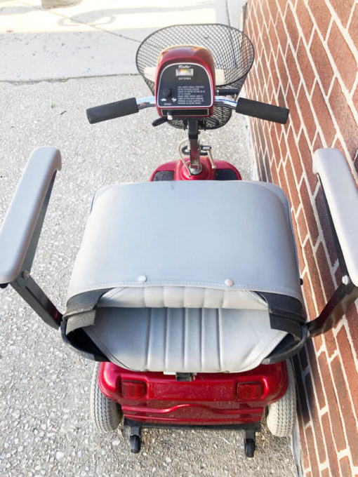 Rally - Mobility Scooter - back view