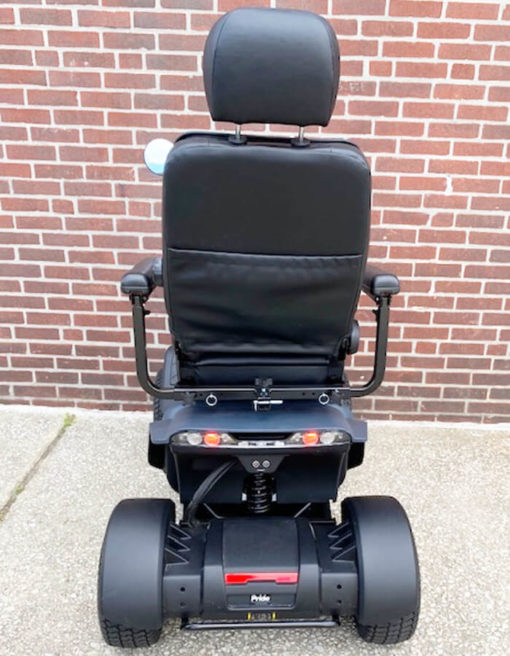Wrangler mobility scooter - back view