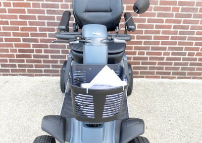 Wrangler mobility scooter - front view