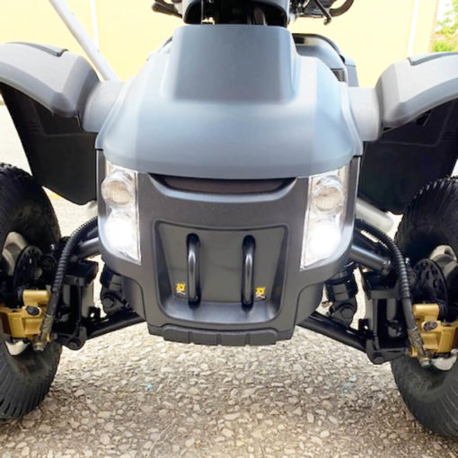 Wrangler mobility scooter - LED headlight display