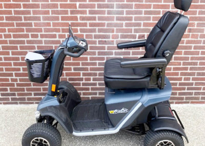 Pride Wrangler 4 Wheel mobility scooter left side
