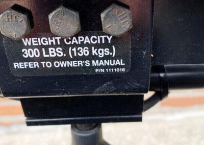 Pronto M91, Power Wheelchair - max weight detail