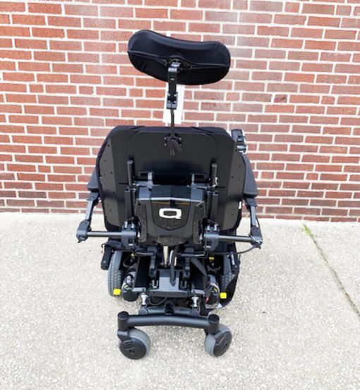 Quantum's Edge HD Power Wheelchair - back view