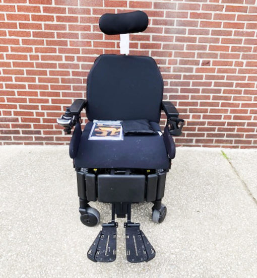 Quantum's Edge HD Power Wheelchair - front view