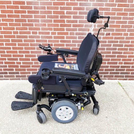 Quantum's Edge HD Power Wheelchair - left side