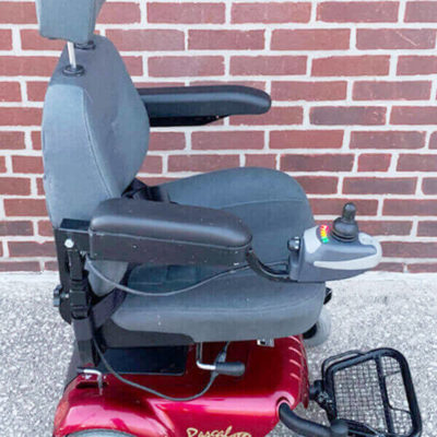 Rascal 320 Power Wheelchair - right side