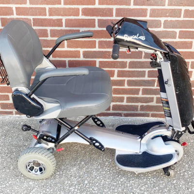 Rascal AutoGo 550 Folding Mobility Scooter - right side