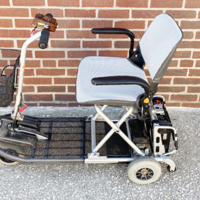 Rascal Fold-N-Go 350 mobility scooter - side view