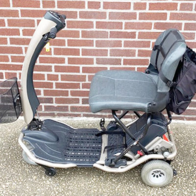 Rascal Fold-N-Go UL 370 mobility scooter - side view