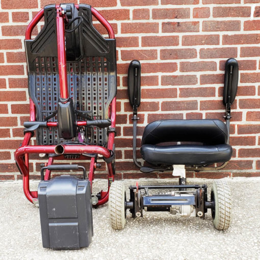 Liteway Mobility Scooter - Disassembled