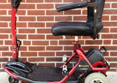 Liteway Mobility Scooter - Left Side