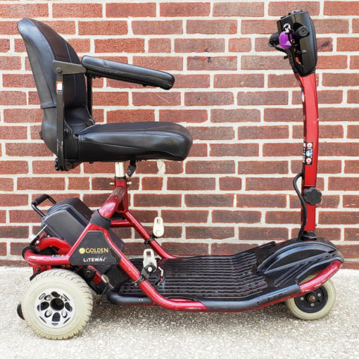 Golden Liteway Mobility Scooter - Right Side